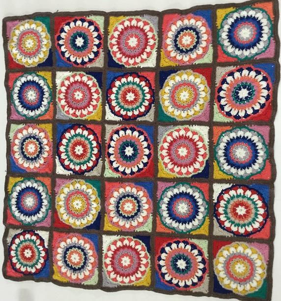 Mandala Motif Blanket