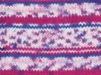 Merino Magic 4ply Purple Pattern