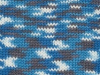 Merino Prints 4ply Mosaic Blue