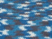 Merino Prints 4ply Mosaic Blue