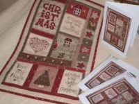 Quilt Card- All Hearts Come Home For Christmas