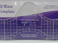 Wave ruler F template