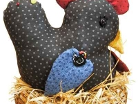 Nesting Chickhen Pin Cushion