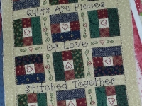 Quilt Card- Quilt's Are Pieces of Love