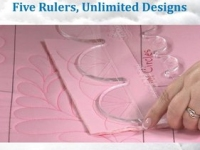 DVD Five rulers Unlimited Designs