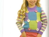 Colour Block Sweater and Head Band