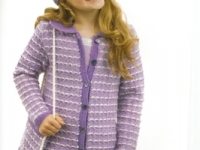 Texture Lilac Jacket and accessories